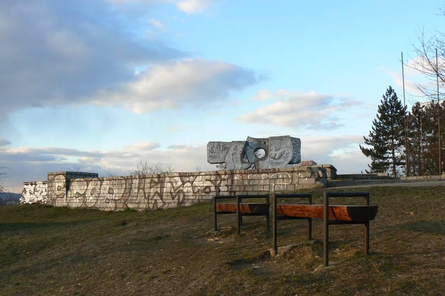 Pomník brněnskému proletariátu na Bílé hoře